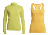 Tasc Performance Sideline 1/4 Zip Top and Basic Racer Tank – Bamboo-Constructed Backcountry Essentials